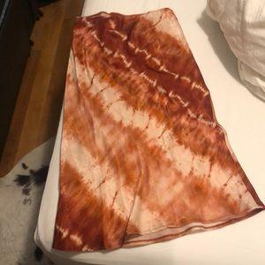 Tie Dye Mango Skirt
